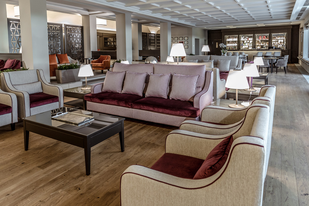 arredamento hotel toscana resort castelfalfi particolare lounge