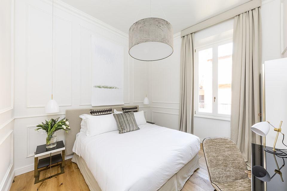 arredamento parisii luxury relais roma particolare camera da letto